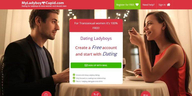 MyLadyboyCupid Homepage