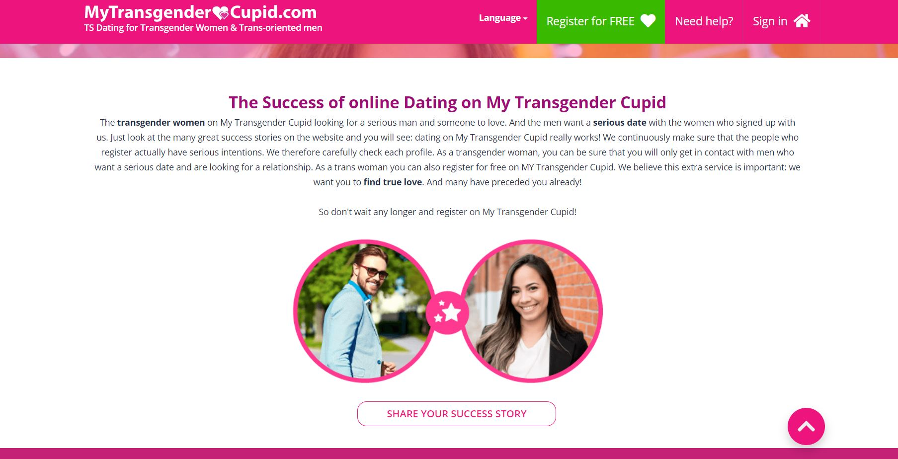 My Transgender Cupid Geschichte
